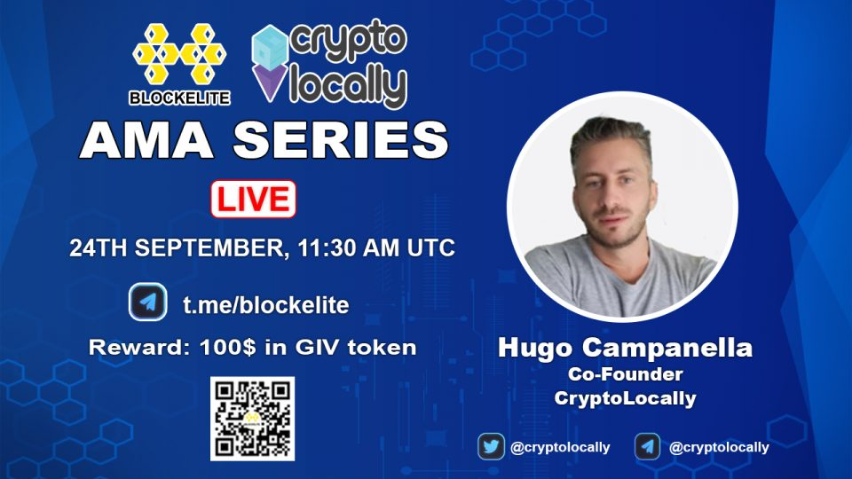 Blockelite x CryptoLocally AMA Recap
