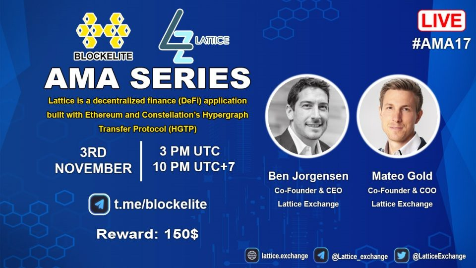 Blockelite x Lattice Exchange AMA Recap
