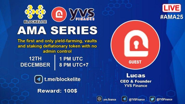 Blockelite x YVS Finance AMA Recap