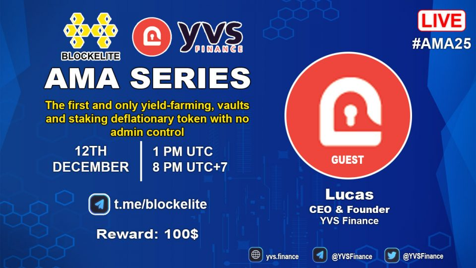 Blockelite x YVS Finance AMA Recap