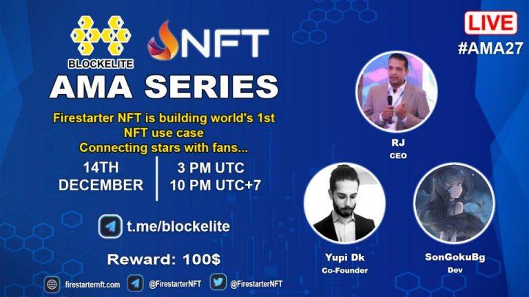 Blockelite x Firestarter NFT AMA Recap