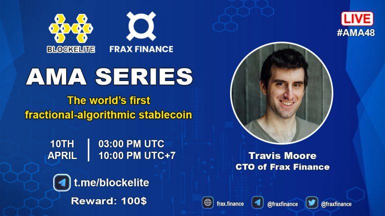 Blockelite X Frax Finance AMA Recap