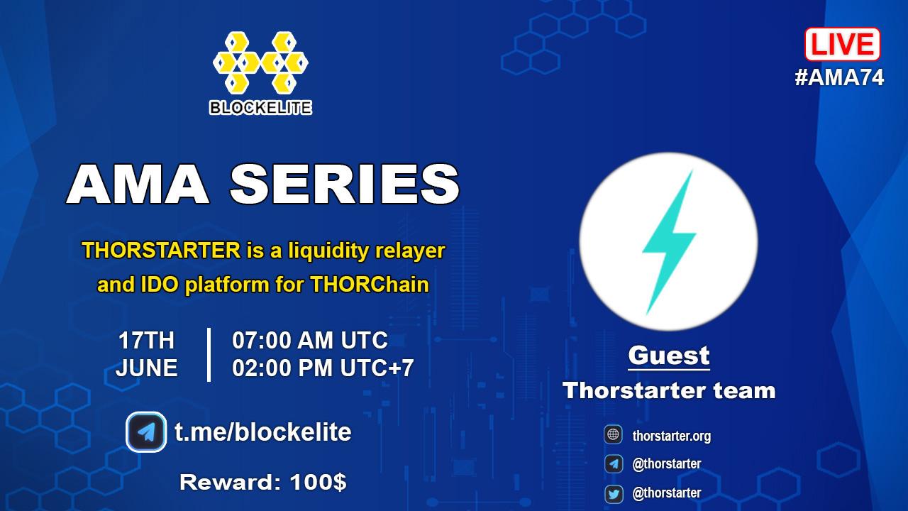 Blockelite X Thorstarter AMA Recap